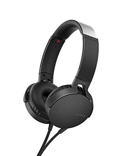 Sony MDR-XB550AP mobile headset Binaural Head-band Black Wired