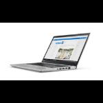 "Lenovo ThinkPad T470s 2.60GHz i5-7300U 14"" 1920 x 1080pixels Silver Notebook"