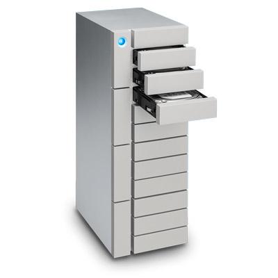 LaCie 96TB 12big Thunderbolt 3 disk array Desktop Silver