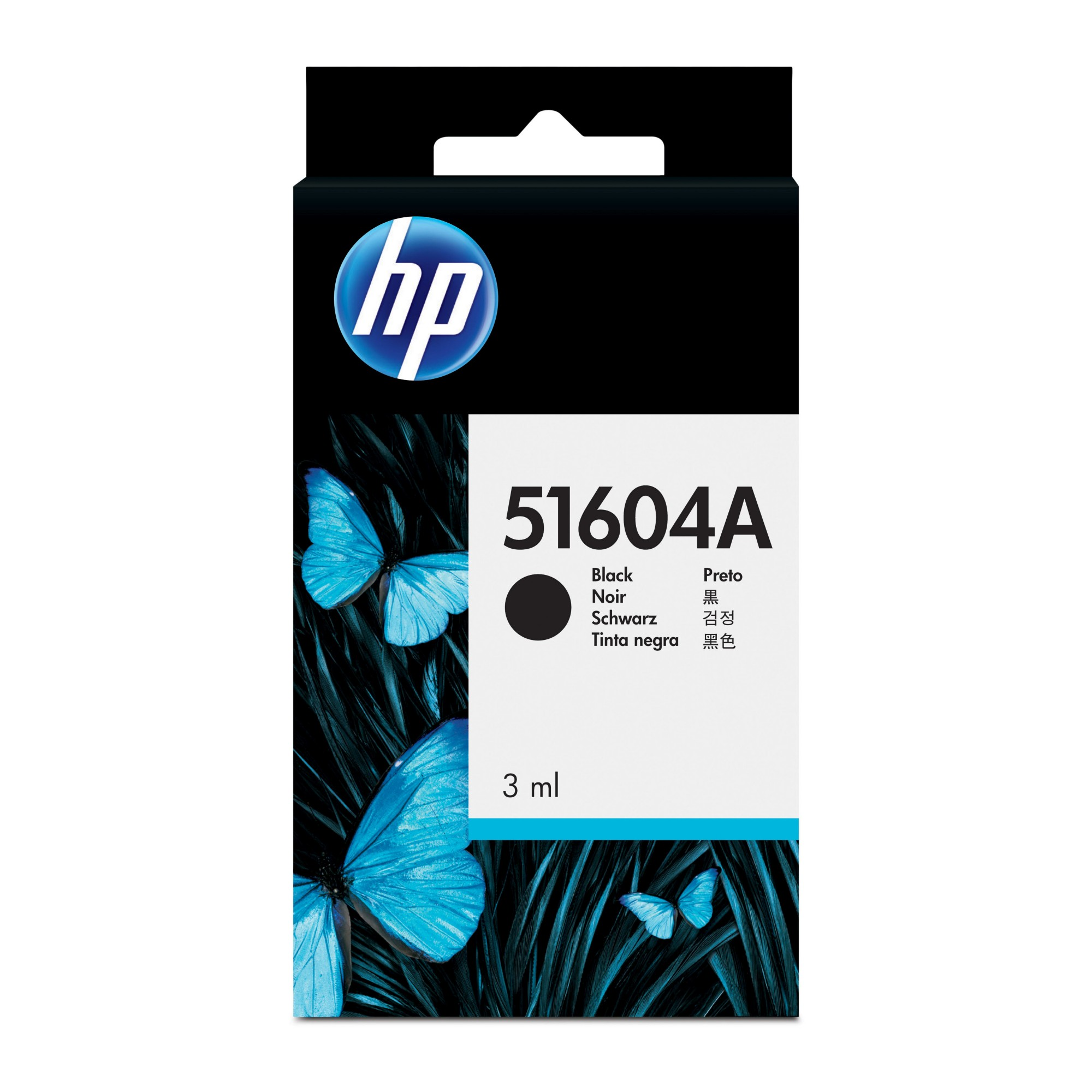 New Genuine HP Black Plain Paper Print Cartridge