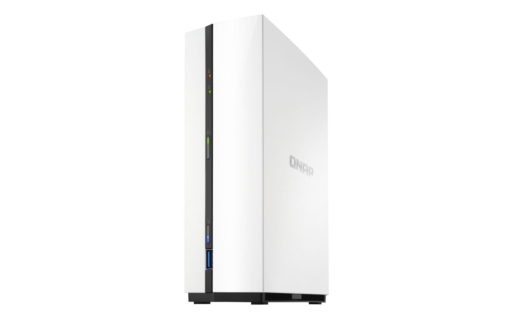 QNAP TS-128A Ethernet LAN Mini Tower Black,White NAS