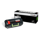 Lexmark 52D0HA0 (520HA) Toner black, 25K pages