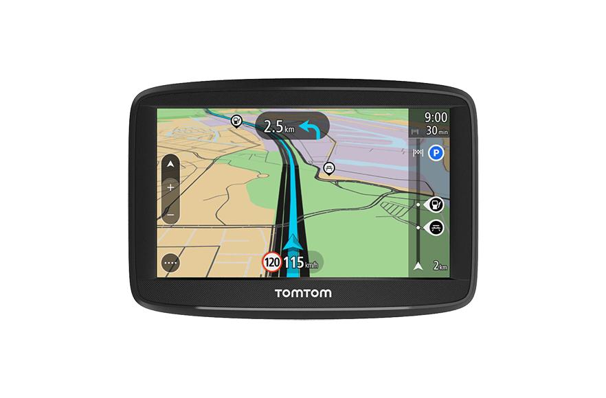 """TomTom Start 42 EU 45 navigator 10.9 cm (4.3"""") Touchscreen Handheld/Fixed Black 235 g"""
