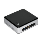 Intel NUC5i3RYK 2.1GHz I3-5010U Black, Stainless steel Mini PC