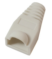 Microconnect Boots RJ-45 Plugs White