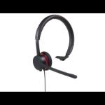 Avaya L129 Headset Head-band Black,Red