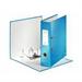 Leitz 180° WOW Cardboard Blue ring binder