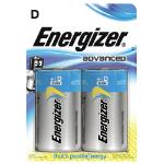 Energizer Advanced E95/ D PK2