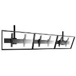 "Chief FUSION 65"" Black flat panel ceiling mount"