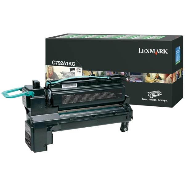 Lexmark C780A1KG Toner black, 6K pages @ 5% coverage