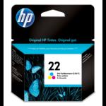 HP 22 Original Cian, Magenta, Amarillo 1 pieza(s)