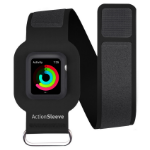 "TwelveSouth ActionSleeve Band  For Apple Watch , 40 x 425 mm, Fits arms 25.4 cm (10"") to 38.1 cm (15"") (38cm),Black"