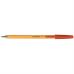 Q-CONNECT KF34048 Stick ballpoint pen Fine Red 20pc(s) ballpoint pen