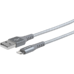 eSTUFF Lightning Cable MFI 2m Grey