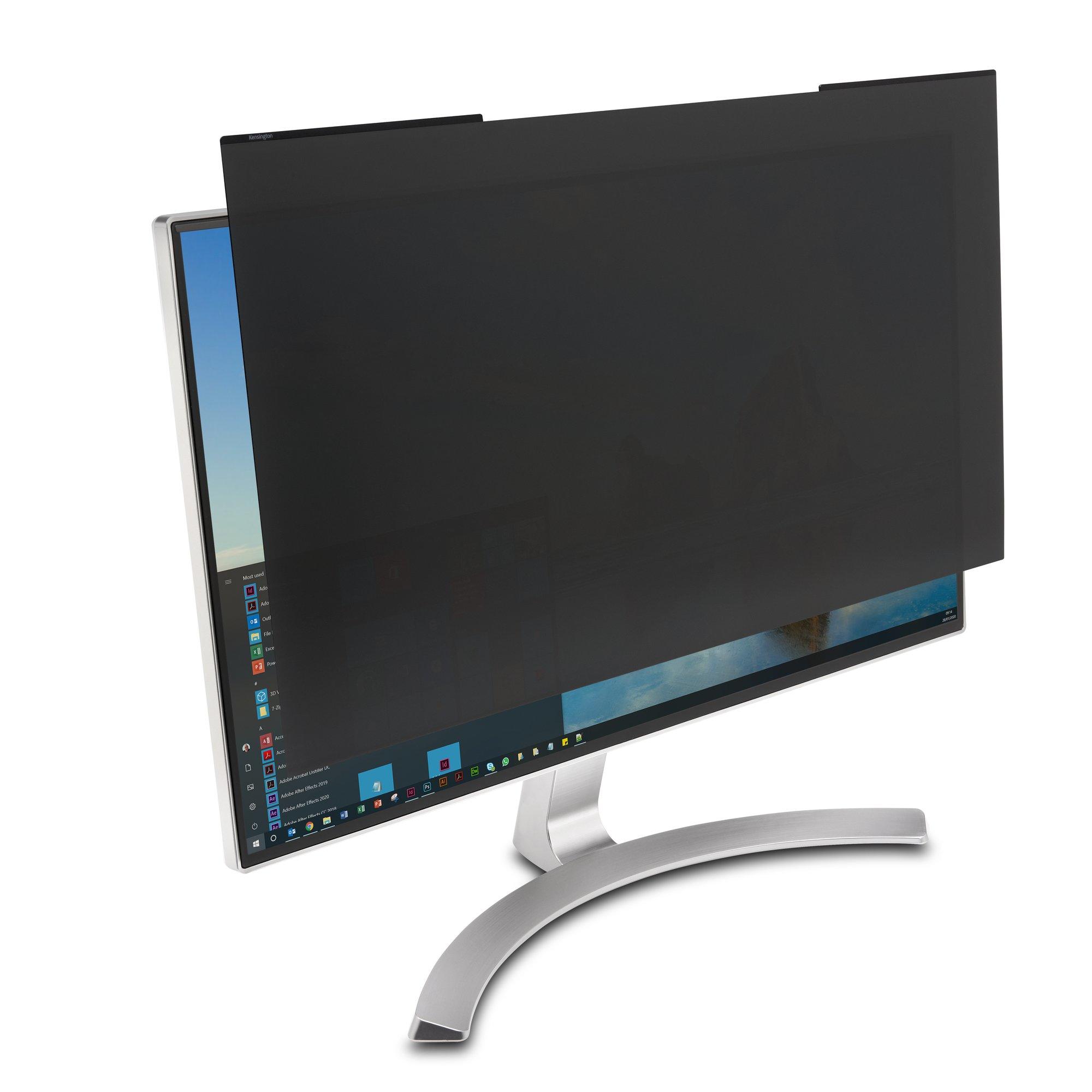 """Kensington K58357WW filtro para monitor Filtro de privacidad para pantallas sin marco 61 cm (24"""")"""