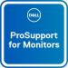 DELL Actualización de 3 años Basic Advanced Exchange a 3 años ProSupport for monitors