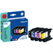 Pelikan 4109972 (P26) compatible Ink cartridge multi pack, 16ml + 3x10ml, Pack qty 4 (replaces Brother LC1240VALBP)