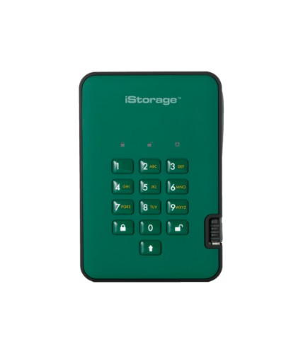 iStorage diskAshur 2 1000 GB Green
