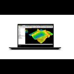 "Lenovo ThinkPad P1 Mobile workstation 39.6 cm (15.6"") 1920 x 1080 pixels 10th gen Intel® Core™ i7 16 GB DDR4-SDRAM 512 GB SSD NVIDIA Quadro T1000 Max-Q Wi-Fi 6 (802.11ax) Windows 10 Pro Black"