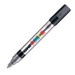 Uni Posca PC-5M Marker Medium Silver PK1