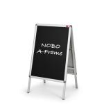 Nobo Clip `A` Frame Blackboard Insert A1 (2)