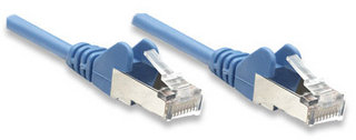 Intellinet 330459 networking cable 0.5 m Blue