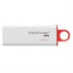 Kingston Technology DataTraveler G4 32GB 32GB USB 3.0 (3.1 Gen 1) USB Type-A connector Red, White USB flash drive