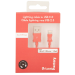 Urban Factory Lightning to USB 2.0 Sync and Charge Cable, 1m, Red (CID34UF)