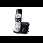 Panasonic KX-TG6811 DECT PHONE - SINGLE DECT telephone Caller ID Black, Silver