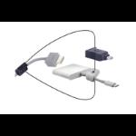 Liberty DL-AR2821 cable interface/gender adapter Mini-DisplayPort, USB C HDMI, HDMI w/USB A Multicolor
