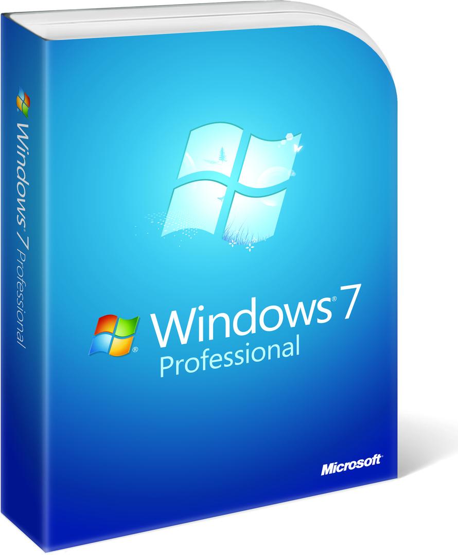 Microsoft Windows 7 PRO SP1 32/64-bit
