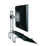 R-Go Tools R-Go Steel Flex Monitor Stand, adjustable, silver