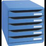 Exacompta 309779D desk tray/organizer Polystyrene Blue