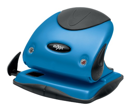 Rexel P225 hole punch 25 sheets Blue