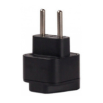 HP 762584-004 Type C (Europlug) Black power plug adapter