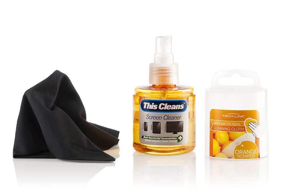 Techlink Orange Tablet PC Equipment cleansing pump spray 120ml