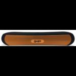 Ghia SPK-1446 Stereo portable speaker 6W Negro, Naranja dir