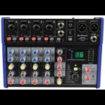 Citronic 170.876UK audio mixer 20 - 20000 Hz Black