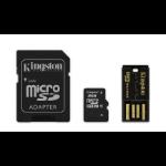 Kingston Technology 8GB Multi Kit 8GB MicroSDHC Flash Class 10 memory card