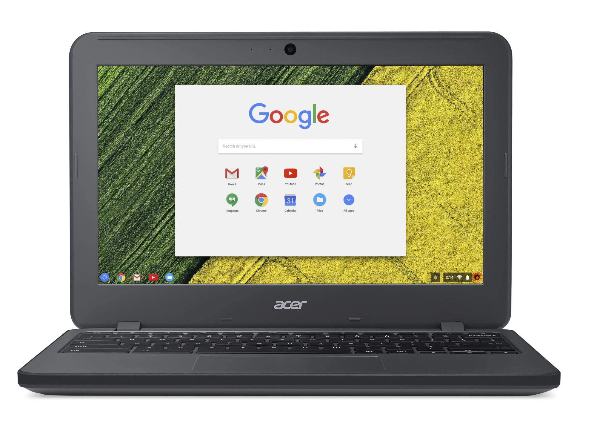 Chromebook C731t-c96j Celeron N3060 / 4GB 32GB SSD 11.6in Chrome Os