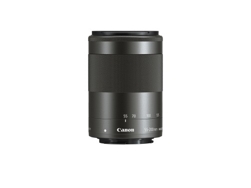 Canon EF-M 55-200mm f/4.5-6.3 IS STM SLR Standard zoom lens Black