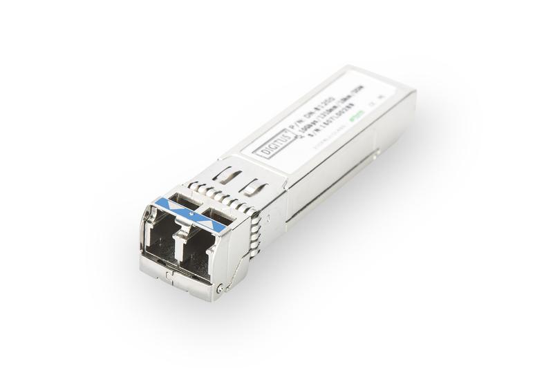 Digitus DN-81200 Fiber optic 850nm 10000Mbit/s mini-GBIC/SFP network transceiver module