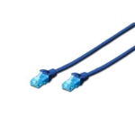 Digitus 10m Cat5e U/UTP 10m Cat5e U/UTP (UTP) Blue networking cable