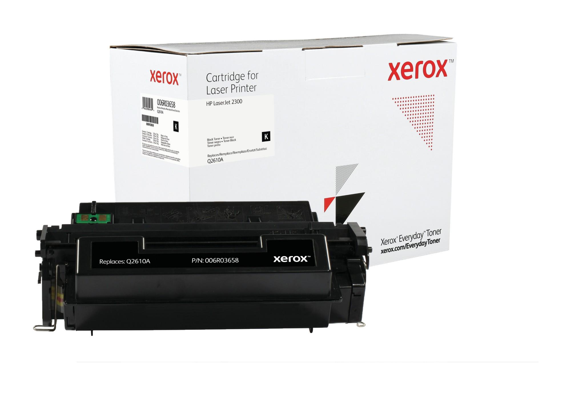 Xerox Tóner de Rendimiento estándar Negro Everyday, HP Q2610A equivalente de , 6000 páginas