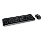 Microsoft Wireless Desktop 850 USB QWERTY English Black