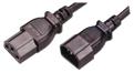 MCL Cable Electric male/female 2m cable de transmisión Negro