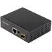 StarTech.com Conversor de Medios Ethernet Industrial de Fibra Multi o Monomodo a 1Gb Ethernet - SFP a RJ45 - Convertidor - IP30 (IMC1GSFP)