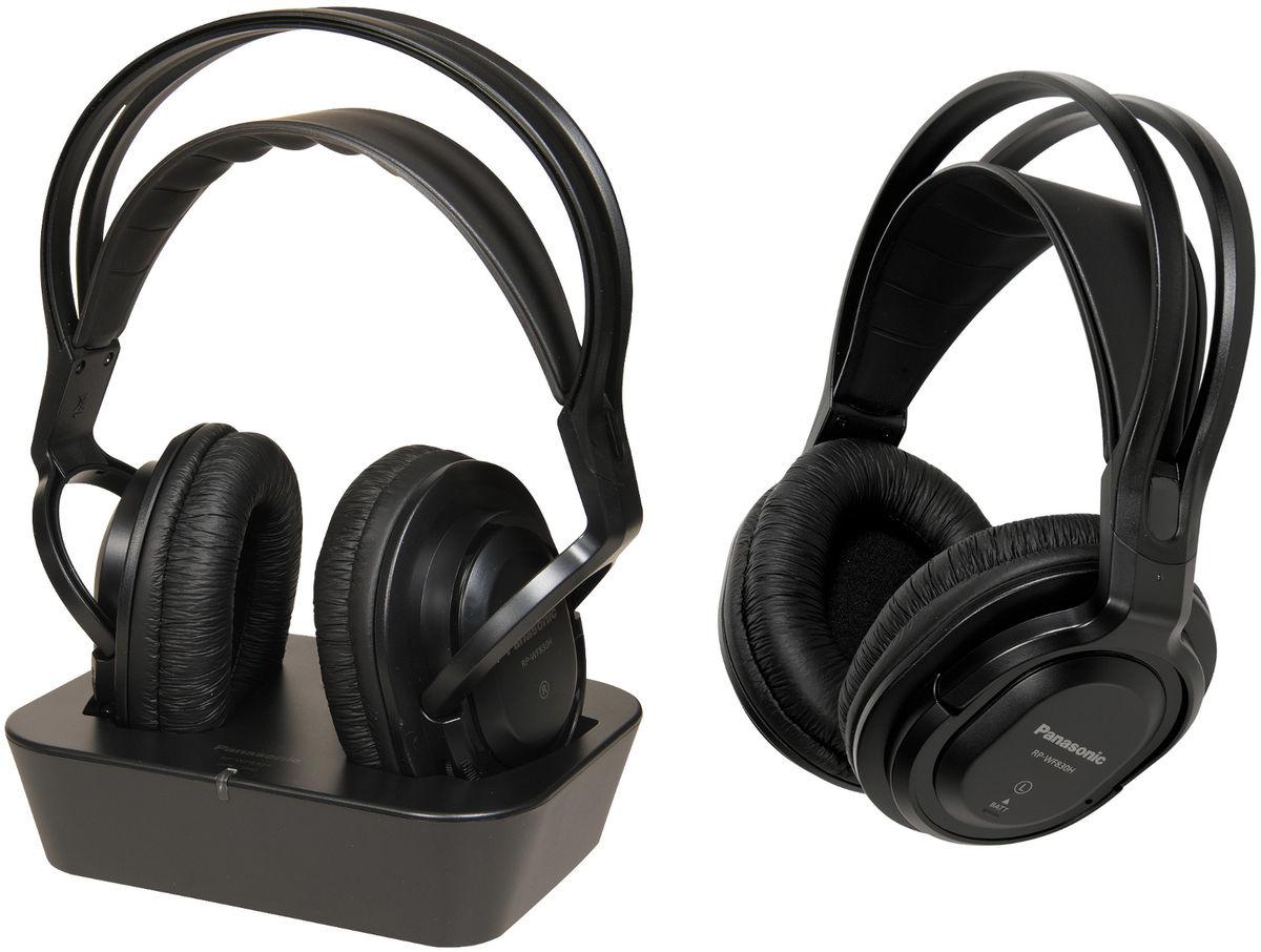 Panasonic RP-WF830WE-K Black Circumaural Head-band headphone