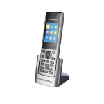 Grandstream Networks DP730 IP phone Black,Grey Wireless handset TFT 10 lines