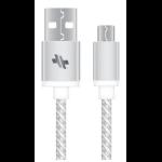 SWISS Dual Port 3.4A Universal Car Charger SCDC234U-B w/ Micro-USB Cable - Black